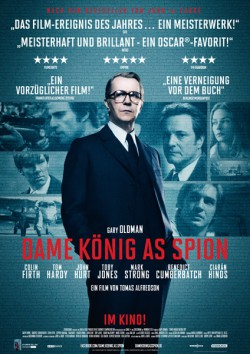 Filmplakat zu Dame, König, As, Spion