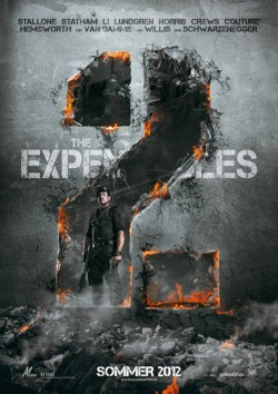 Filmplakat zu The Expendables 2
