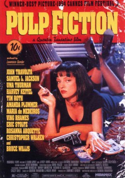 Filmplakat zu Pulp Fiction