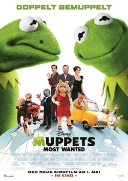 Filmplakat zu Muppets Most Wanted