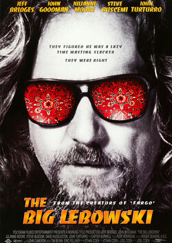 Filmplakat zu The Big Lebowski