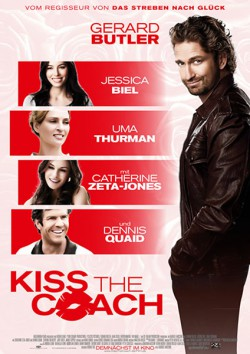 Filmplakat zu Kiss the Coach