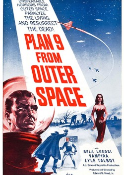 Filmplakat zu Plan 9 from Outer Space