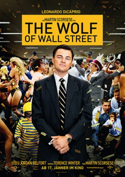Filmplakat zu The Wolf of Wall Street