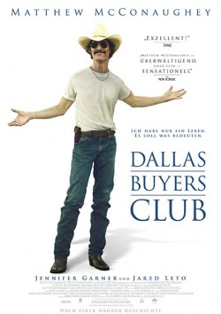 Filmplakat zu Dallas Buyers Club