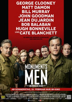Filmplakat zu Monuments Men