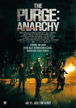 Filmplakat zu The Purge: Anarchy