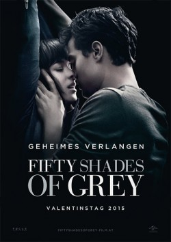 Filmplakat zu Fifty Shades of Grey