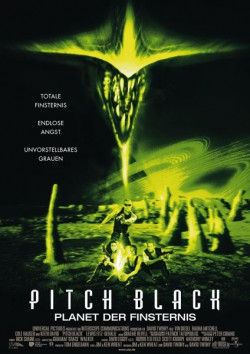 Filmplakat zu Pitch Black - Planet der Finsternis