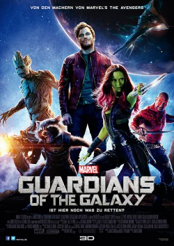 Filmplakat zu Guardians of the Galaxy