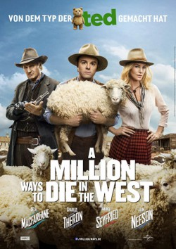 Filmplakat zu A Million Ways to Die in the West