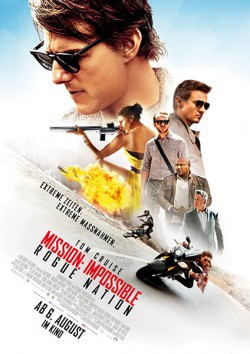 Filmplakat zu Mission: Impossible - Rogue Nation