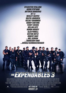 Filmplakat zu The Expendables 3