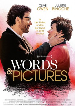 Filmplakat zu Words & Pictures