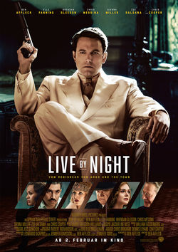 Filmplakat zu Live by Night
