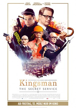 Filmplakat zu Kingsman: The Secret Service