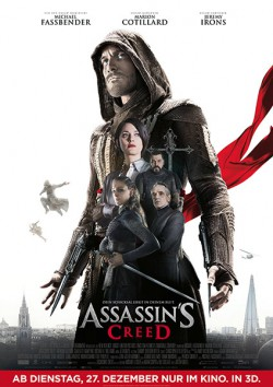 Filmplakat zu Assassin's Creed