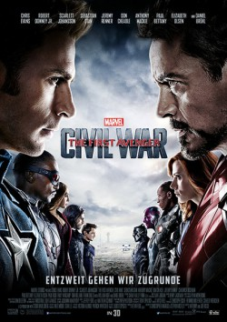 Filmplakat zu The First Avenger - Civil War
