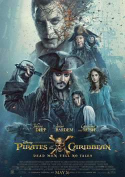 Filmplakat zu Pirates of the Caribbean - Salazars Rache