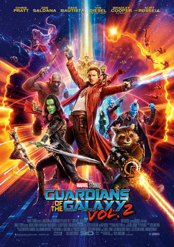 Filmplakat zu Guardians of the Galaxy 2