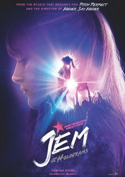 Filmplakat zu Jem and the Holograms