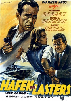 Filmplakat zu Gangster in Key Largo