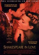 Filmplakat zu Shakespeare in Love